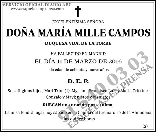 María Mille Campos